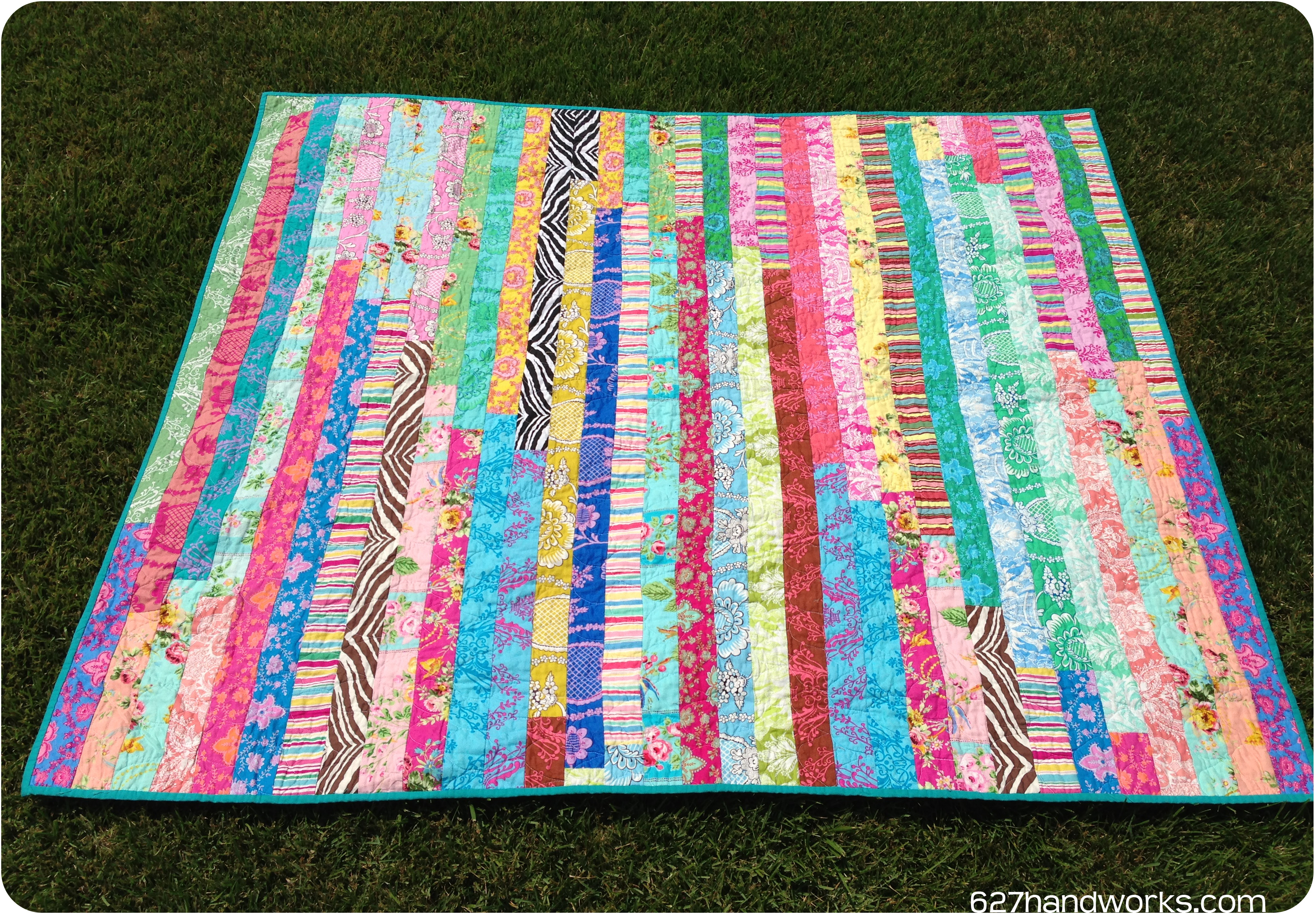 Paganelli Jelly Roll Race | 627handworks : quilts from jelly rolls - Adamdwight.com