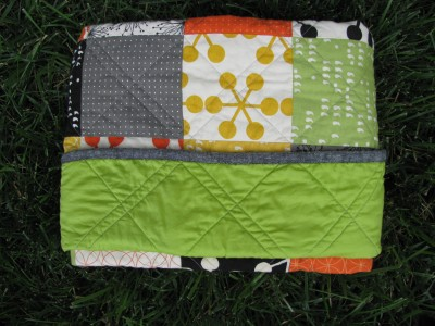 Tucked Quilt Fold (10)
