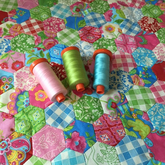 Gypsy Girl Mini Hexagon Quilt 627handworks (3)