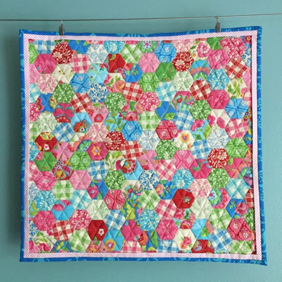 Gypsy Girl Mini Hexagon Quilt 627handworks (6)