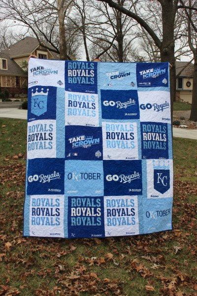 KC Royals Rally Towel Quilt