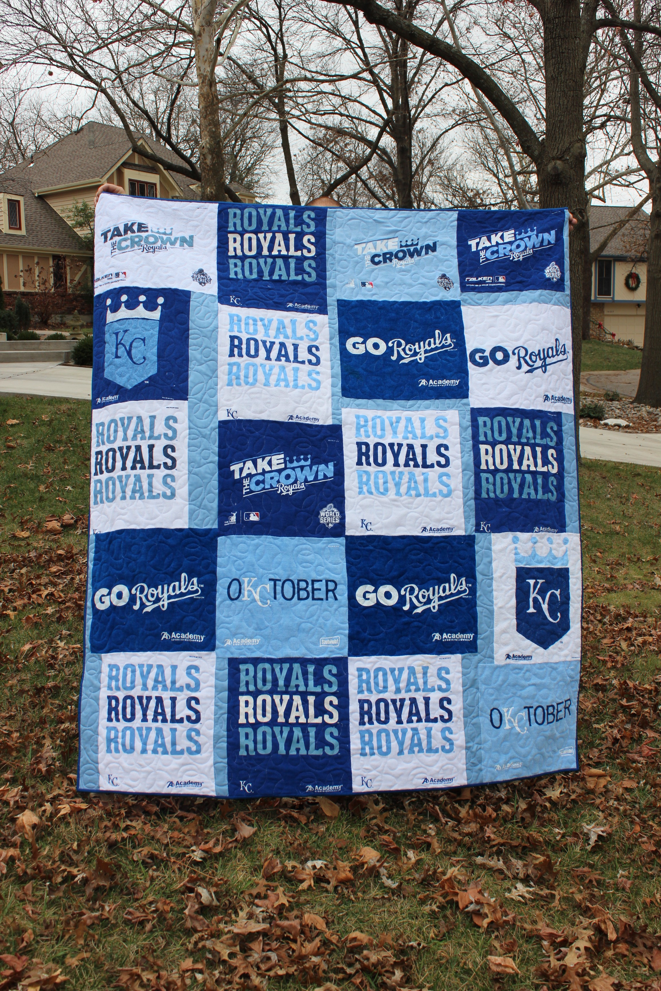 Kansas City Royals Rally Towel Quilt 627handworks
