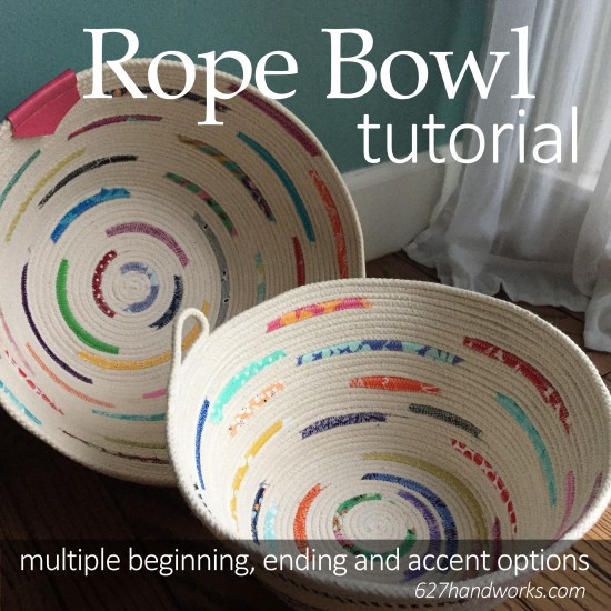 Rope Bowl Tutorial 627handworks
