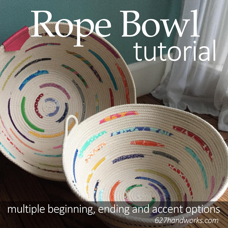 Rope Bowl Tutorial 627handworks