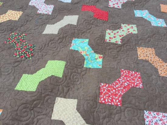 King Size Bow Tie quilt (1)