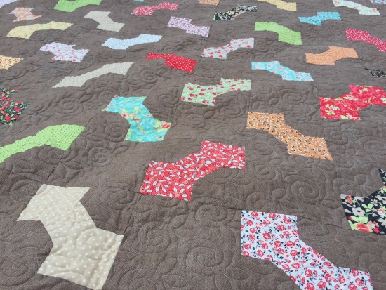 King Size Bow Tie quilt (4)